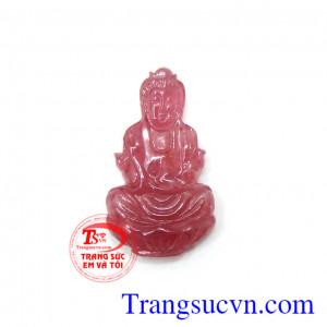 Phật quan âm ruby đẹp