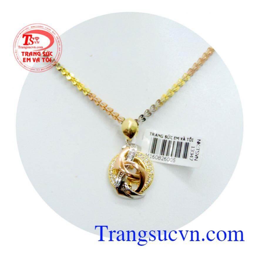 Bộ sản phẩm trang sức vàng cho nữ giới