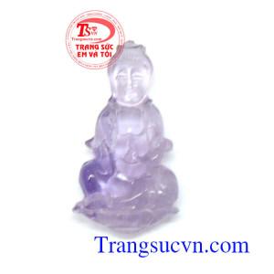 Phật quân âm thạch anh tím thiên nhiên