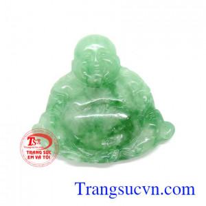 Phật di lặc ngọc cẩm thạch bụng phệ