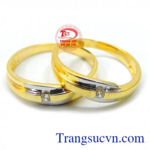 Nhẫn cưới tình yêu bền chặt
