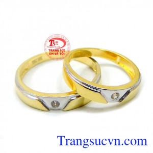 Nhẫn cưới vàng 10k đẹp giá rẻ