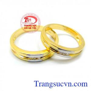 Nhẫn cưới thời trang đẹp quý phái