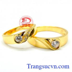 Nhẫn cưới hạnh phúc đẹp TSVN