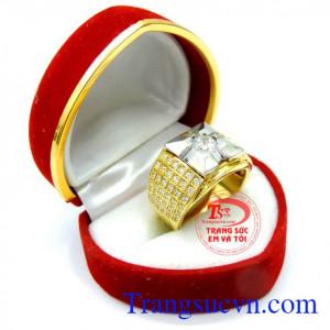 Nhẫn nam vàng mang lại may mắn