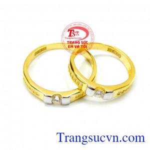 Đôi nhẫn cưới món quà hạnh phúc