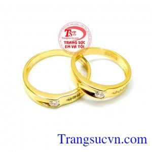 Nhẫn cưới tình yêu ý nghĩa đẹp