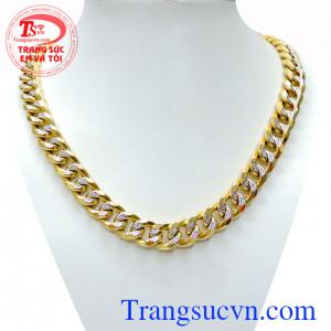 Dây chuyền đẳng cấp cho phái mạnh chất lượng vàng đảm đeo bền đẹp sáng bóng, tinh tế và sang trọng dành cho phái mạnh