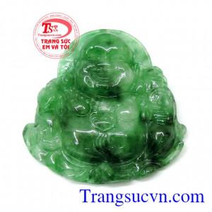 Mặt di lặc jadeite hạnh phúc