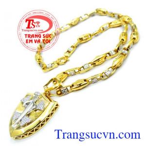 Chất lượng vàng đảm bảo thanh toán an toàn, giao toàn quốc, Bộ trang sức vàng đẹp nam