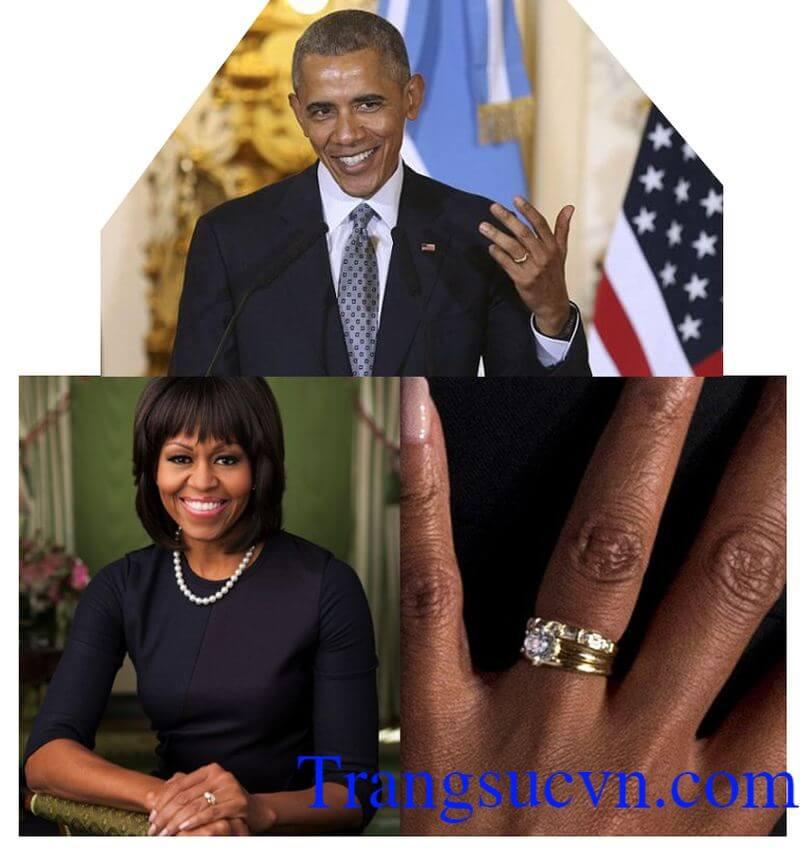 Cặp nhẫn cưới Obama