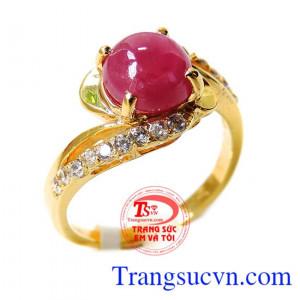 Nhẫn nữ ruby công danh