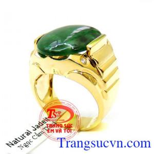 Nhẫn Nam Vàng Ngọc