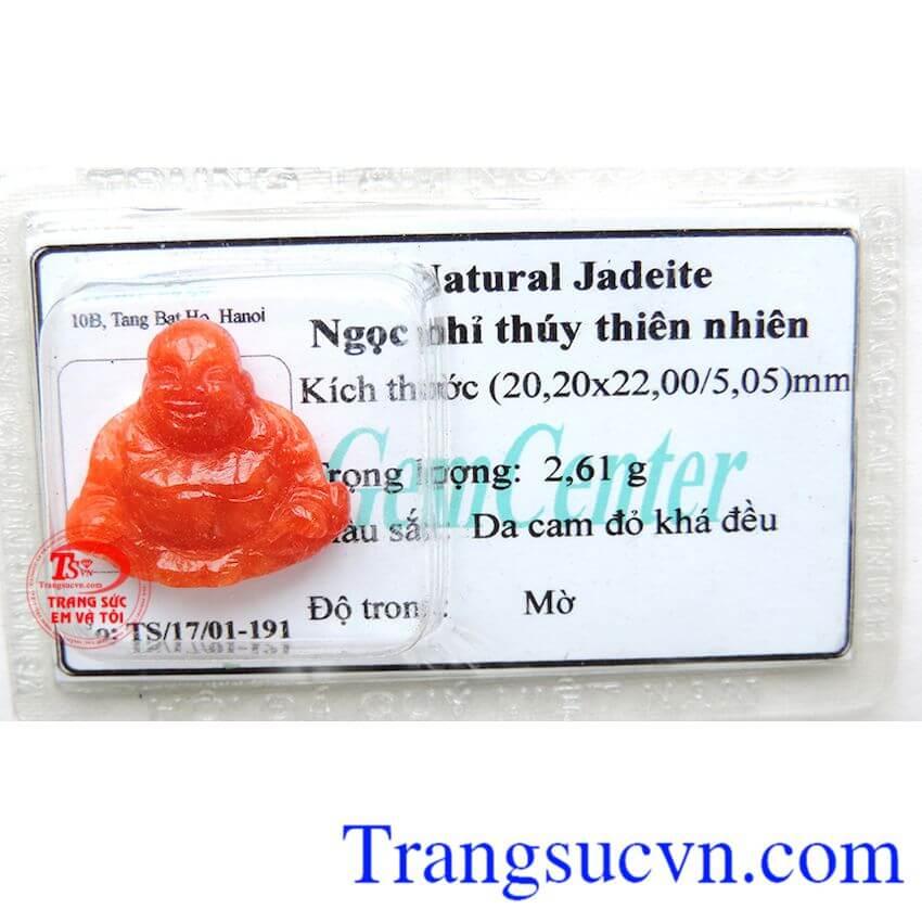 Phật Di Lặc Ngọc phỉ thúy thiên nhiên