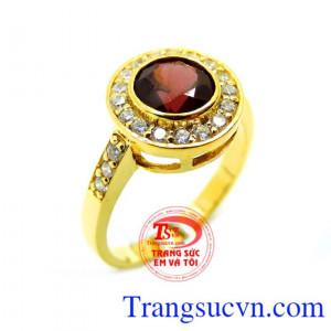 Nhẫn nữ Mệnh Hỏa và Thổ