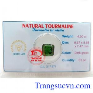 Tourmaline Xanh vuông