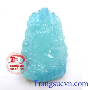 Phật Quan Thế Âm Bồ Tát Aquamarine