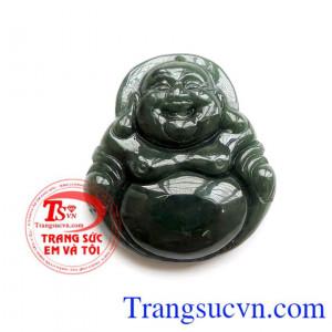 Phật Di Lặc Ngọc Cẩm Thạch Thiên Nhiên