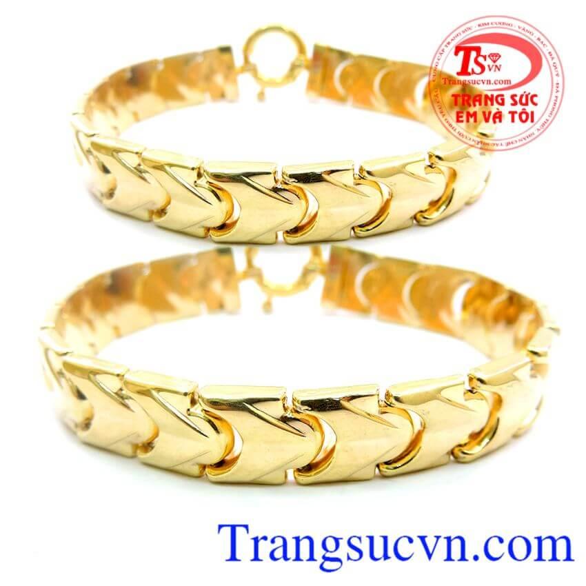 Lắc Nam Vàng lắc tay kiểu đẹp cho nam BÁn Lắc vàng nam tính vàng tây nam tính được nhiều người ưa chuộng.