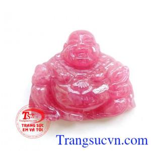 Mặt Ruby Phật Di Lặc