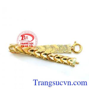 Lắc vàng tây nam đẹp,vàng đảm bảo chất lượng. Lắc Nam Vàng Giá Tốt