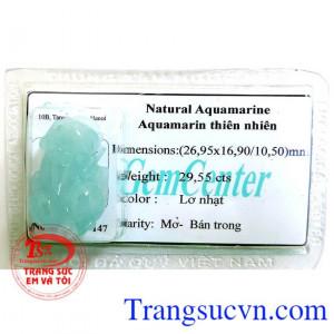 Aquamarine tỳ hưu giàu có