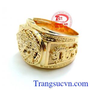 Nhẫn Nam Versace Vàng 10k