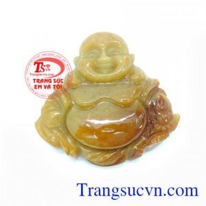 Mặt Phật Di Lặc Đá Cẩm Thạch Thiên Nhiên