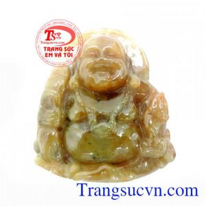 Mặt Phật Di Lặc Ngọc Cẩm Thạch 100%