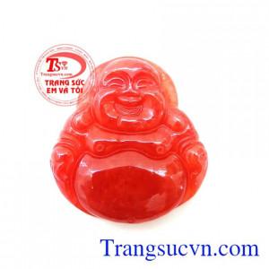Phật Di Lặc Ngọc Đỏ