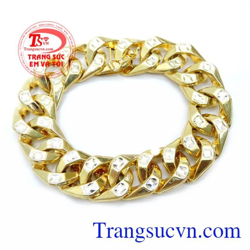 Bán Lắc Vàng Mạnh Mẽ Cho Nam Đeo chất lượng vàng 10k đảm bảo.