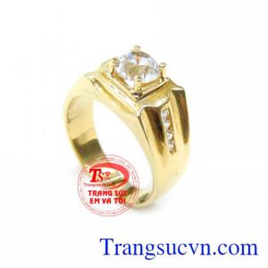 Nhẫn Nam Vàng 18K TSVN