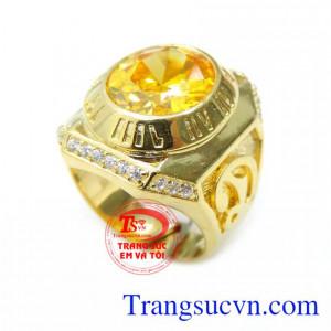 Nhẫn Nam Vàng 10K La Mã