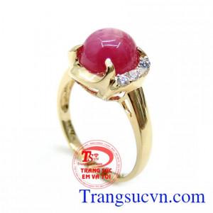 Nhẫn Nữ Ruby Xinh Xắn