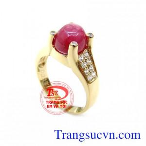 Chiếc Nhẫn Ruby Hộ Mệnh