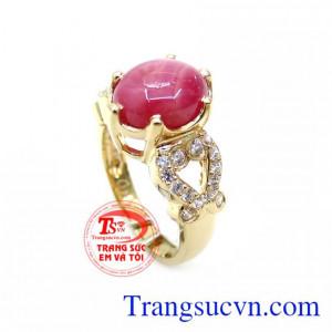 Chiếc Nhẫn Hồng Ngọc Quý Phái