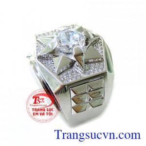 Nhẫn nam vàng tinh tế và đảm bảo chất lượng dành cho nam sáng bền đẹp