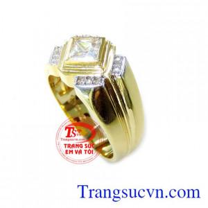 Nhẫn Nam Vàng Tây 10k Đẹp