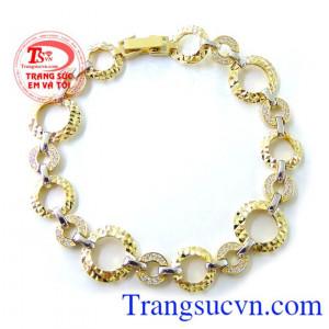 Lắc nữ vàng Korea 10k tinh tế