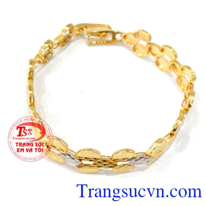 Lắc vàng tây nữ đeo