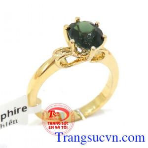 Nhẫn nữ vàng nữ sapphire