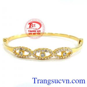 Vòng nữ vàng 750 Tình yêu