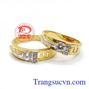 Đôi nhẫn cưới minh chứng tình yêu