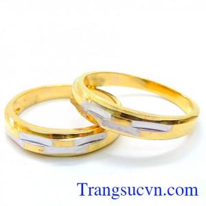 Nhẫn cưới vàng tây tình yêu vĩnh hằng