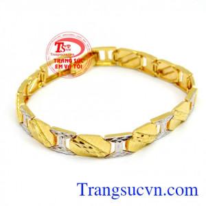 Lắc vàng thời trang nam