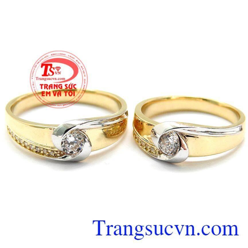 Nhẫn cưới Hàn Quốc Tình Yêu