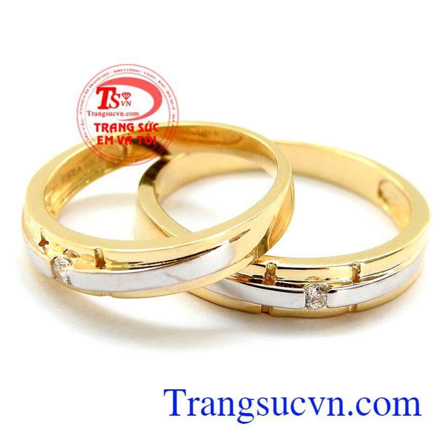 Nhẫn cưới Hàn Quốc tinh tế