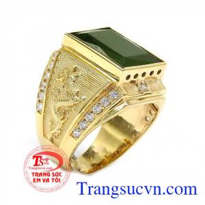 Nhẫn vàng 14k quyền lực