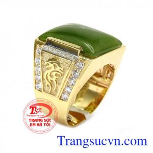 Nhẫn vàng 14k phong cách