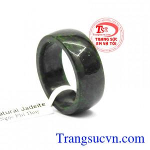 Nhẫn ngọc jadeite thịnh vượng